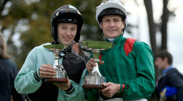 Prize guy: Colin Keane rode Birdcage to victory at Dundalk