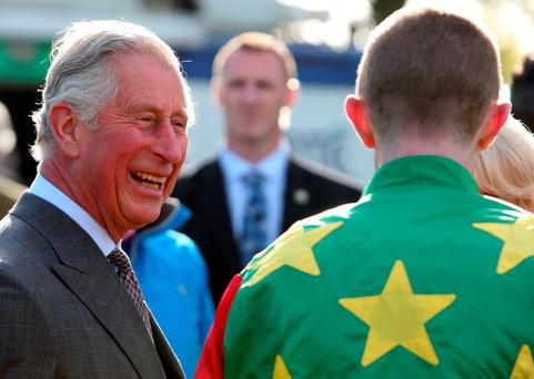 Sport of kings: Prince Charles at Sligo races
