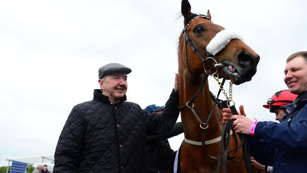 Dermot Weld with Forgotten Rules