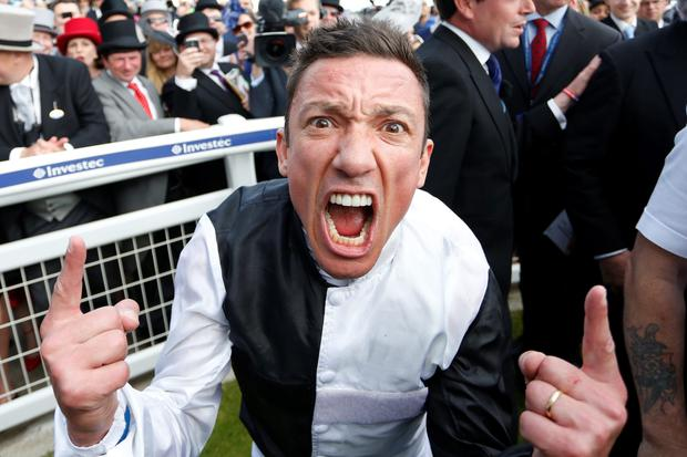 Good shout: Frankie Dettori has Royal Ascot in his sights