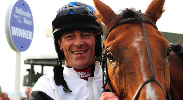 Davy Russell returns to action at Killarney on Thursday