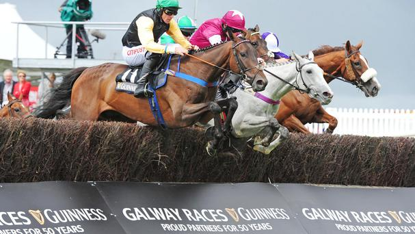 Shantou Flyer (near) wins at Galway