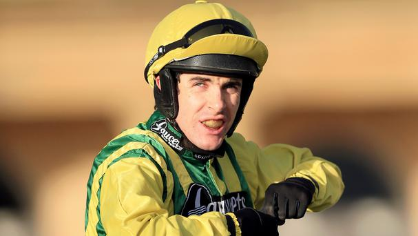 Jockey Aidan Coleman was assaulted on Tuesday afternoon