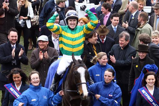 Former champion jockey AP McCoy