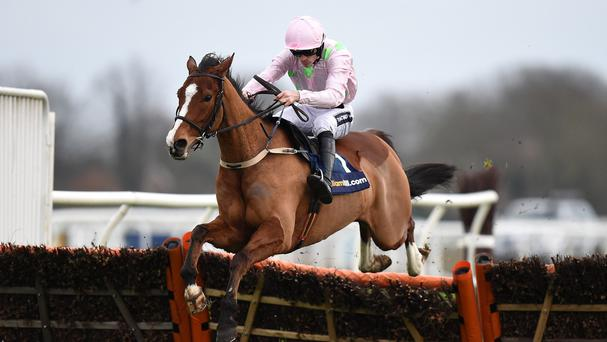 Faugheen wins his second Christmas Hurdle