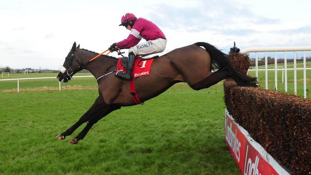 Don Cossack asserts his authority at the last in the Kinloch Brae