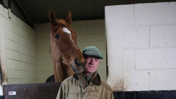 Willie Mullins with Annie Power