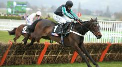Altior leads at the last in the Supreme