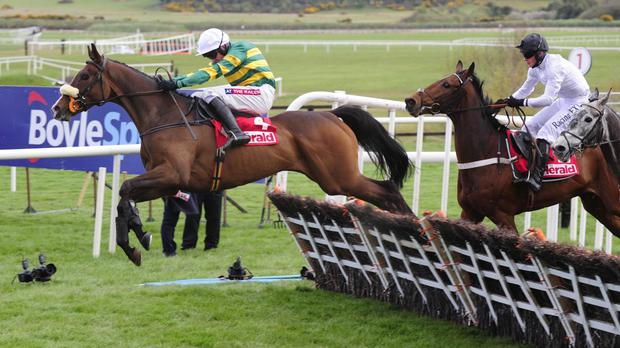 Don't Touch It goes for home at Punchestown