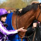 Ryan Moore with Minding