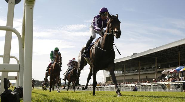 Seventh Heaven claims the Irish Oaks