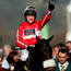 Thumbs up: Barry Geraghty celebrates his victory on The Druids Nephew on Champion Day during the Cheltenham Festival