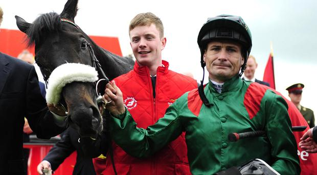 Pat Smullen with Harzand