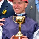 Doubling up: Kerrin McEvoy won his second Melbourne Cup