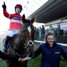Out in front: Silviniaco Conti is favourite for the big JNWine.com Champion Chase at the Down Royal Festival on Saturday