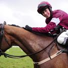 Bryan Cooper has suffered a fractured pelvis following a spill in Saturday's first race at Punchestown