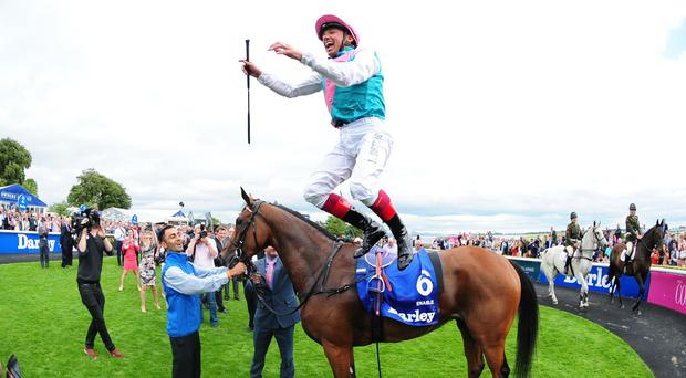Enable has Frankie Dettori dreaming of Arc glory