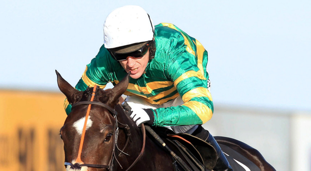 What a day: the legendary AP McCoy winning the big WKD Hurdle on Jezki at the 2013 Down Royal Festival