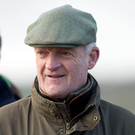 Hat-trick: trainer Willie Mullins bagged a Punchestown treble
