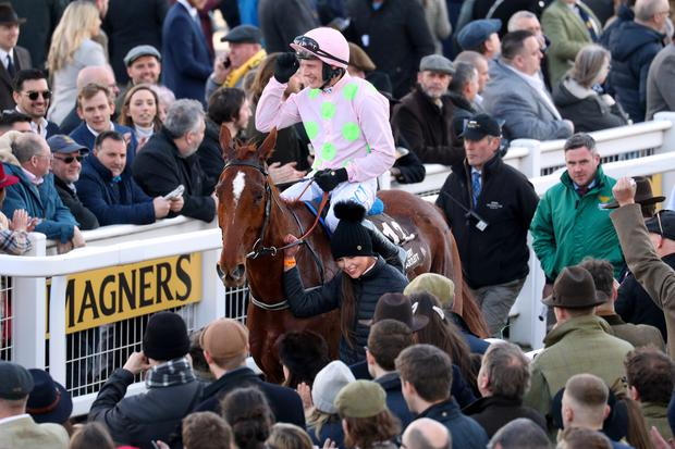 Winning horses and jockeys are usually cheered to the rafters (Andrew Matthews/PA)
