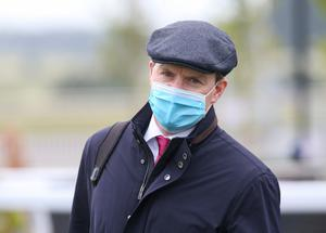 Big chance: Aiden O'Brien is aiming for success at the Curragh