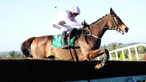 Vautour puts in a fine leap under Ruby Walsh