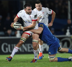 Waiting game: Greg Jones performed well in a rare outing when Ulster overcame Zebre earlier this week