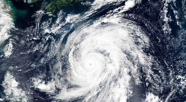 Closing in: Typhoon Hagibis has already cancelled two World Cup games