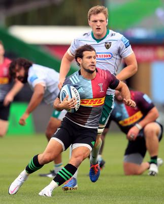 Harlequins' former England scrum-half Danny Care in action during their win over Northampton (Adam Davy/PA)