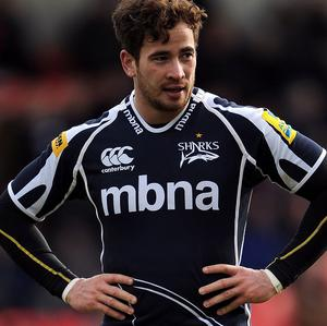 Danny Cipriani is nearing the end of his first season with Sale Sharks