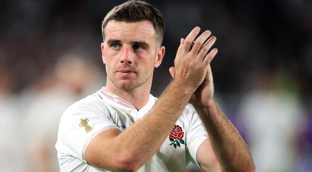 George Ford revealed there were frank discussions about the 2015 flop (Adam Davy/PA)