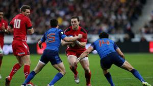 Wales' George North feels his side can win the Six Nations