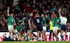 Scotland lost to Ireland when they last met in Dublin (Niall Carson/PA)