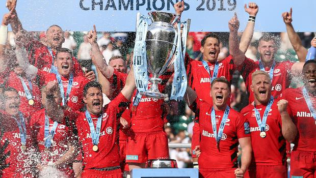 It has been a challenging period for Saracens (Darren Staples/PA)