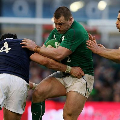 Cian Healy hopes Ireland can build on their driving maul against England in the Six Nations