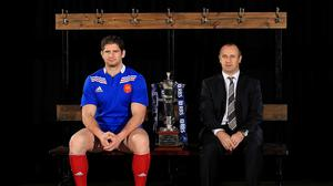 Pascal Pape, left, had his appeal against a 10-week ban thrown out, ending his Six Nations career