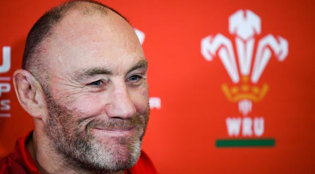 Robin McBryde says there is still room for improvement for Wales (Ben Birchall/PA).