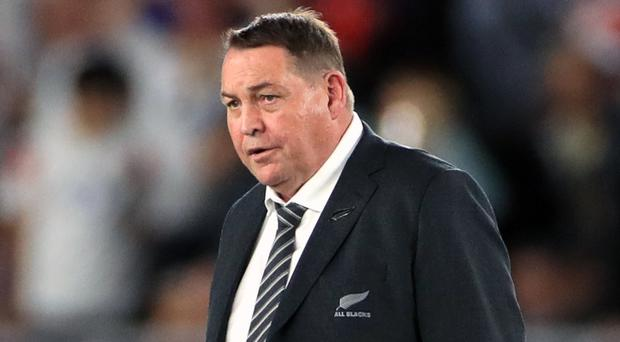 Steve Hansen is set to leave his role as All Blacks coach (Adam Davy/PA)