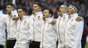 Many of Jonny May's England team-mates play for Saracens, including Owen Farrell (Ian Rutherford/PA)