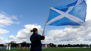 The Scotland Women player tested positive on March 6 (PA)