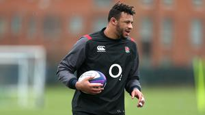 Courtney Lawes has a back injury (Steven Paston/PA)