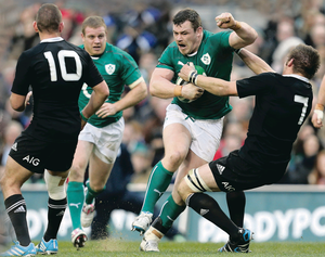 Rugby players are having to take bigger and bigger blows at all levels