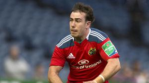 JJ Hanrahan was on target for Munster as they defeated Cardiff Blues