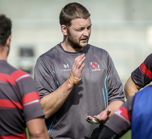 Listen up: returning skipper Iain Henderson takes a lead role during Captain's Run at Kingspan yesterday ahead of tonight's Pro14 final