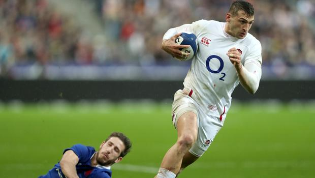 Jonny May (right) has moved into England's top five try-scorers (David Davies/PA)