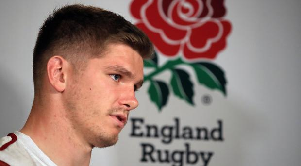 Owen Farrell has urged England to seize their opportunity to win the World Cup (Adam Davy/PA)
