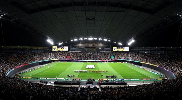 Refereeing standards at Japan 2019 have been deemed not up to scratch by World Rugby (David Davies/PA)