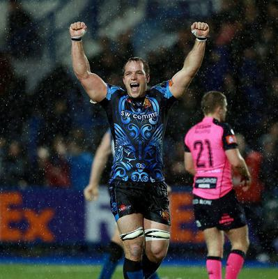 Exeter's Kai Horstmann, pictured, helped his side through to the semi-finals of the LV= Cup.