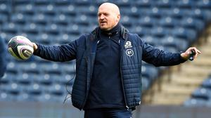 Gregor Townsend's Scotland face Wales on Saturday (Ian Rutherford/PA)