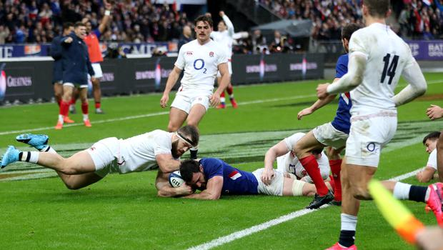 England were well beaten in Paris (David Davies/PA)